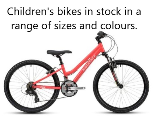 Children's Ridgeback Lightweight Bikes